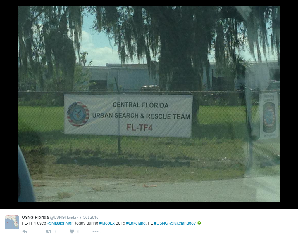 Urban Search N Rescue Team Florida Tf4 Lakeland